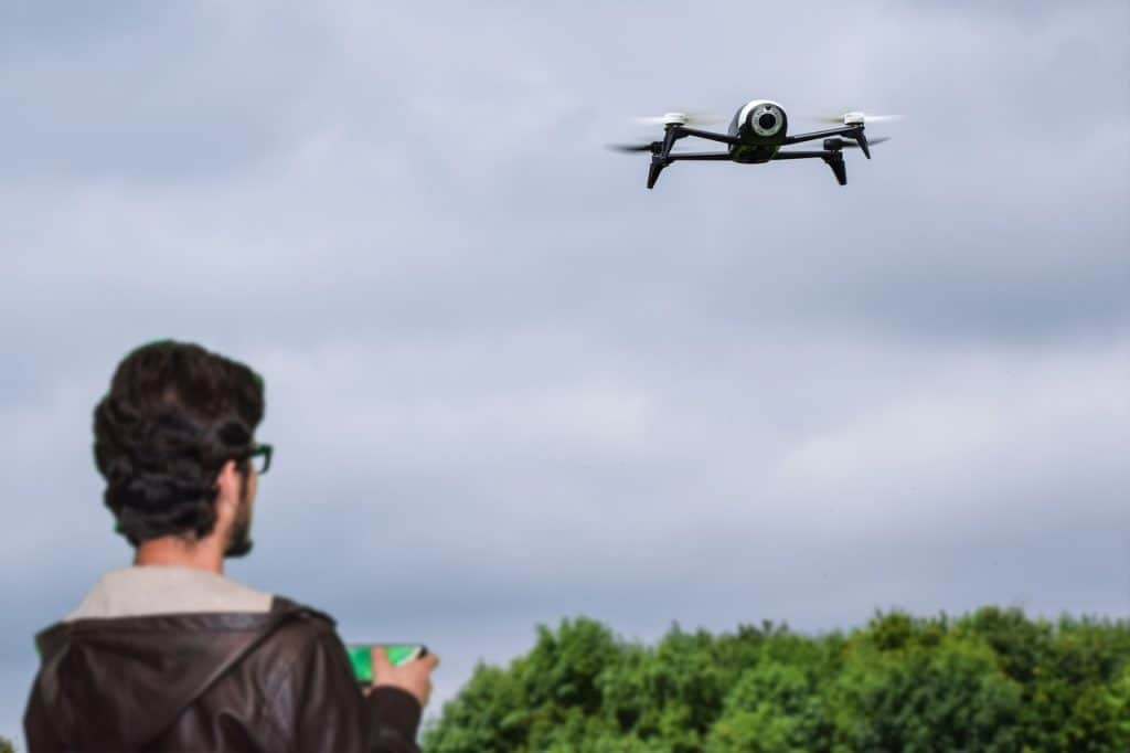 How high can a drone fly