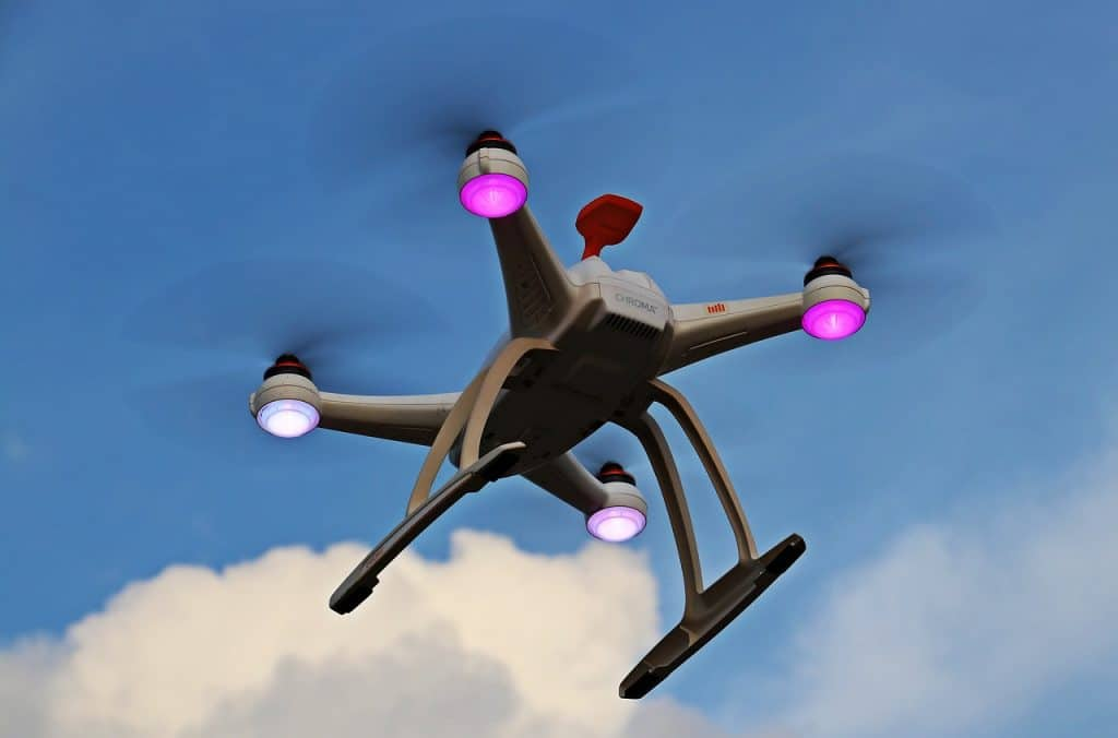 how far can a drone fly