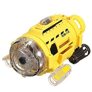 remote control submarine with camera